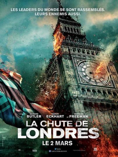 La Chute de Londres : bande annonce du film, séances, streaming