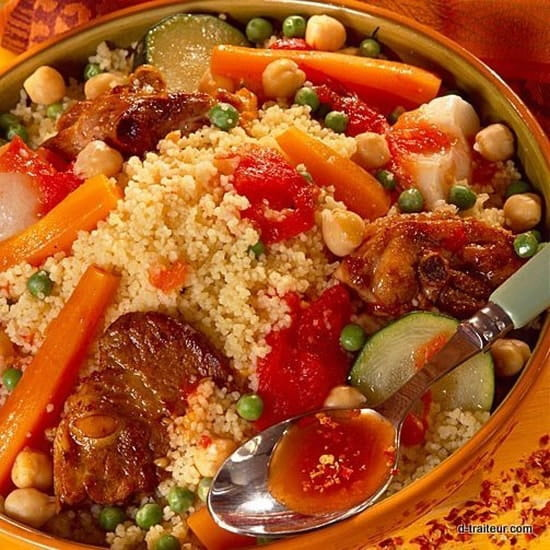 O Resto Grill  - Couscous -   © ali baba
