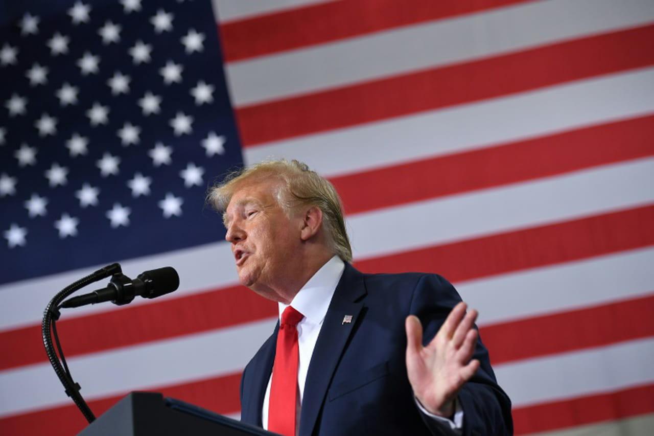 Trump multiplie les tweets aux accents xénophobes, 2020à l'esprit