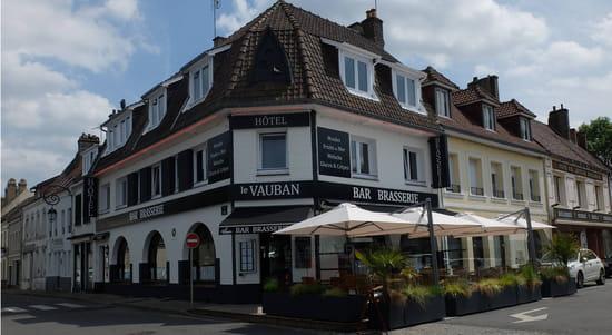 Restaurant : Le Vauban  - Le Vauban Montreuil-sur-Mer -   © Le Vauban