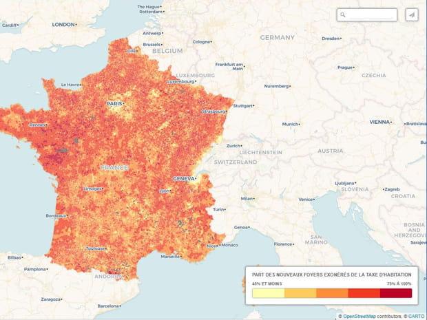 Dans quelles villes bénéficiera-t-on le plus de la réforme de la taxe d'habitation?