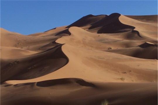 Crêtes de dunes