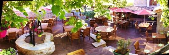 Restaurant : Le Jardin des Secrets  - La terrasse -