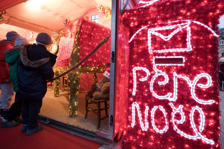 Envoyer Lettre Au Pere Noel Par La Poste.Lettre Au Pere Noel 2019 En Ligne Par La Poste Modele