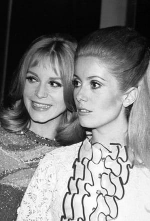 Catherine Deneuve et Françoise Dorléac en 1967