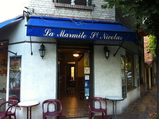 La Marmite Saint Nicolas  - Restaurant La Marmite -   © Studio FHINFO