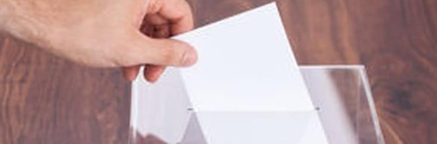 Vote blanc: est-il pris en compte la présidentielle? Réponse