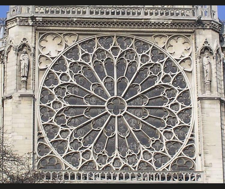 La rosace Sud de Notre-Dame
