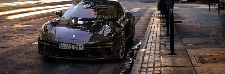 La nouvelle Porsche 911Targa en images