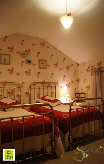 La Sauldraie  - Une chambre campagne à l'hotel restaurant La Sauldraie à salbris -