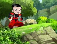 Mini ninjas : Les voeux dans le vent