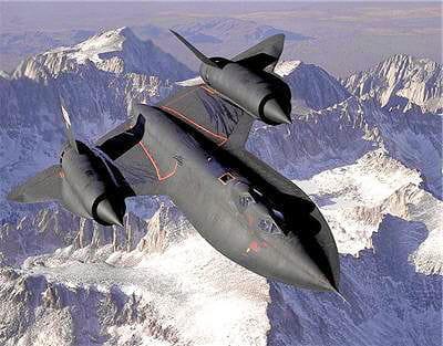 cet avion peut inscrire 3 530km/h à son compteur.
