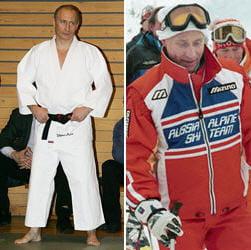 vladimir poutine est ceinture noire de judo. en vue des jo d'hiver 2014, qui
