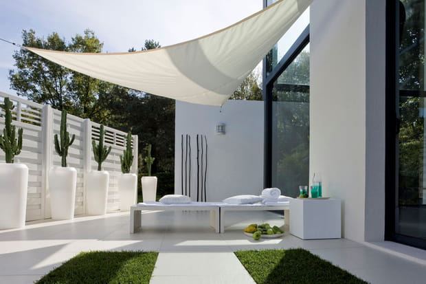 Une terrasse design