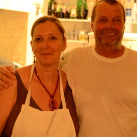 Restaurant : Chez Didier et Brigitte  - Brigitte et Didier.  -