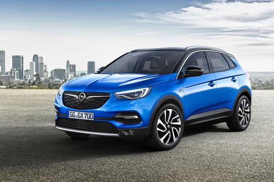 Opel Grandland X: c'est le nouveau cousin du Peugeot 3008[photos]