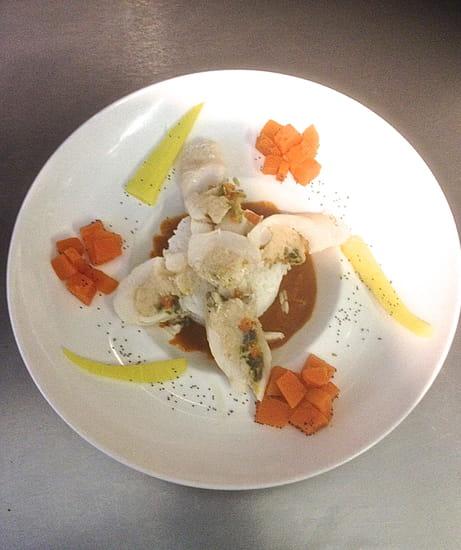 Plat : La Tonnelle  - poisson local, travaillé en bouillabaisse -