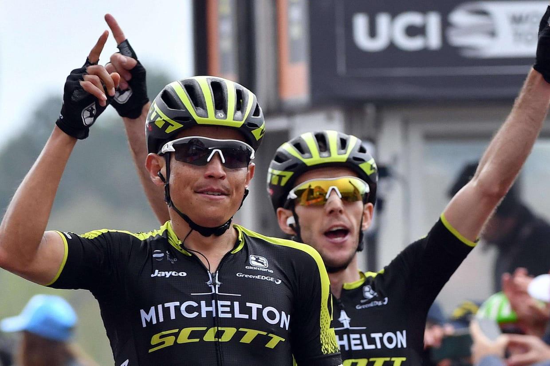 Victoire d'étape de Bennett — Tour d'Italie