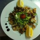 Le Café Sainte  - Supions frais, ail et persil -
