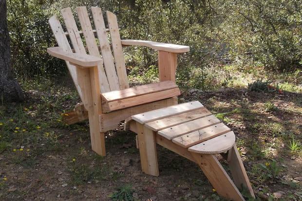 un fauteuil de jardin. Black Bedroom Furniture Sets. Home Design Ideas