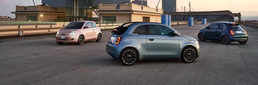 Nouvelle Fiat 500: le prix de la version électrique