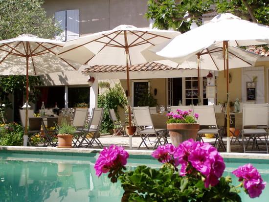 Restaurant : Auberge L'Amandin  - Terrasse du restaurant -   © amandin