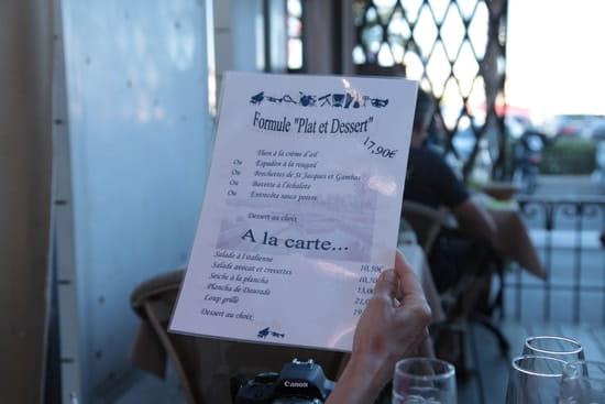 Muscade  - Le menu du 14 juillet 2014 -   © JPS