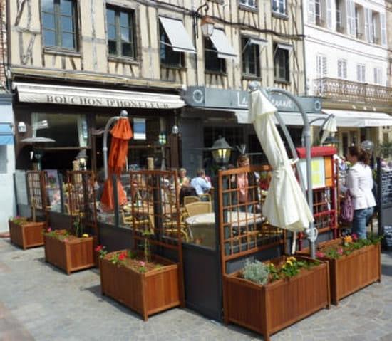 Le Bouchon d'Honfleur  - Facade du restaurant -