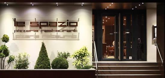 Restaurant : Le Spazio  - ENTRÉE DU RESTAURANT -   © LE SPAZIO