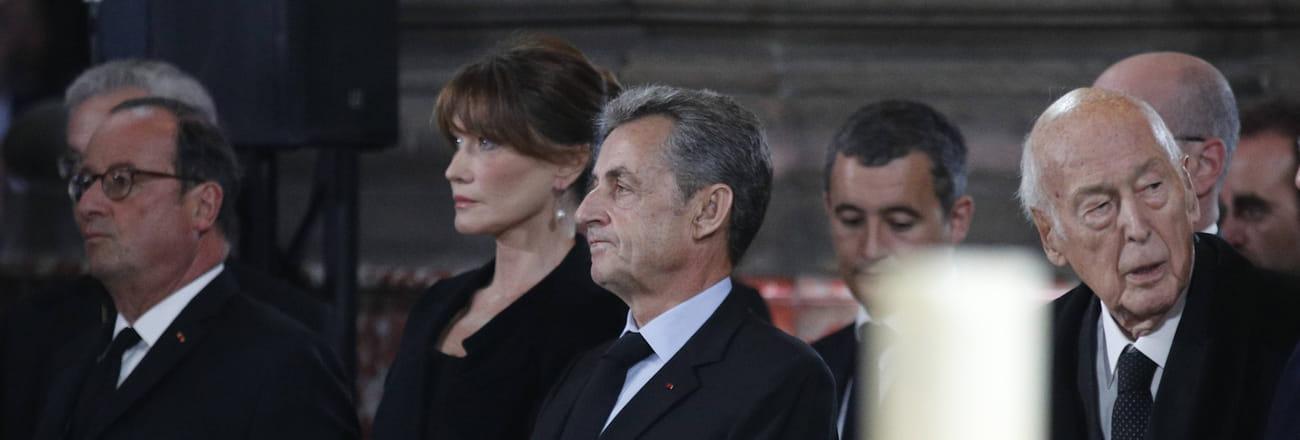 Les personnalités venues rendre hommage à Jacques Chirac