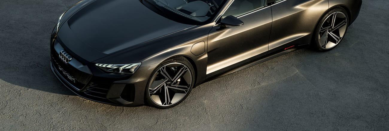 Les photos de l'Audi e-tron GT Concept