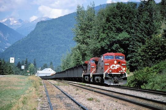 Train de la Canadian Pacific