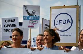 Allemagne: 35.000manifestants à Dresde contre l'extrême droite