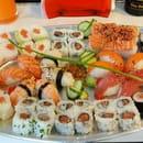 Plat : Ici Sushi Lounge  - Ici plateau  -