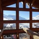 Le Chalet de Charamillon  - Grandes fenêtre avec vue  -   © Charamillon