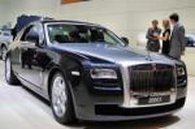 Rolls-Royce 200 EX, la Ghost
