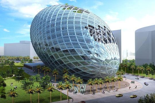 Un uf futuriste en inde for Architecture futuriste