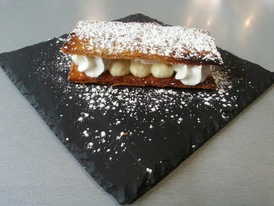 Dessert : Restaurant le M  - Millefeuille maison -