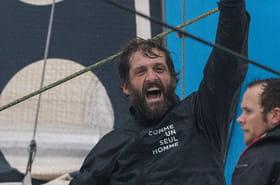 Vendée Globe: Eric Bellion 9e du classement à l'arrivée
