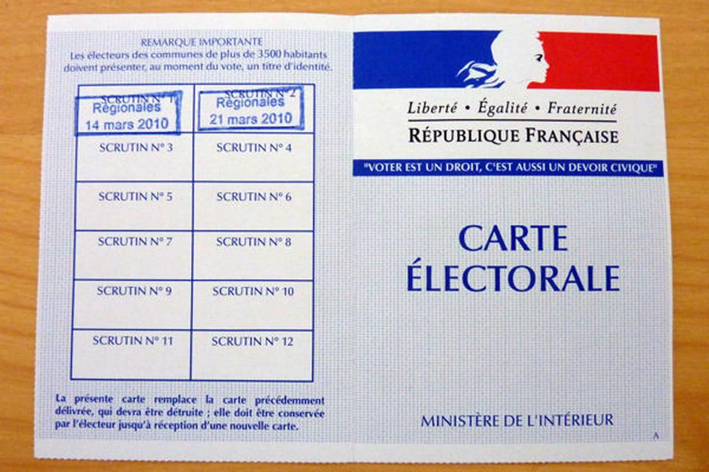 carte d électeur à imprimer Carte d'électeur : vote, obtention et perte de sa carte électorale