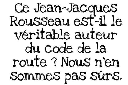 Code Rousseau
