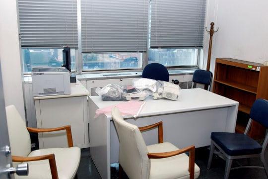 Bureaux provisoires