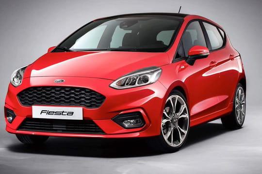 Nouvelle Ford Fiesta: les premières photos de la citadine à quatre versions
