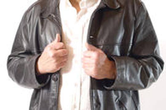 Entretien d'un blouson en cuir