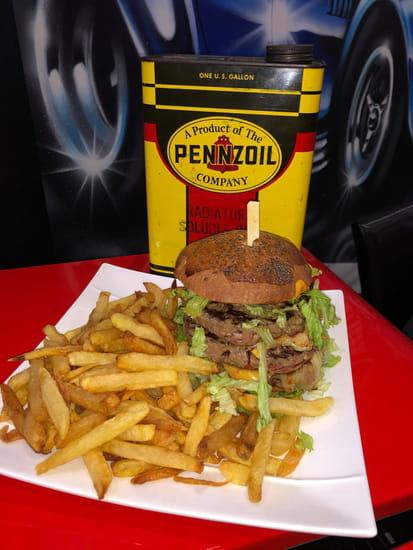 Plat : Le Shelby  - burger maison -   © moi