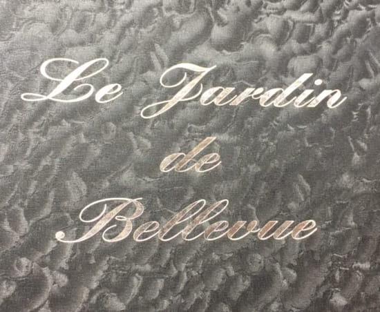 Restaurant : Le Jardin de Bellevue