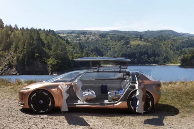 """La voiture électrique autonome """"salon"""""""