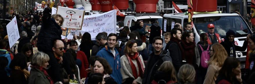Journée d'action CGT/FO: plusieurs milliers de personnes à Paris