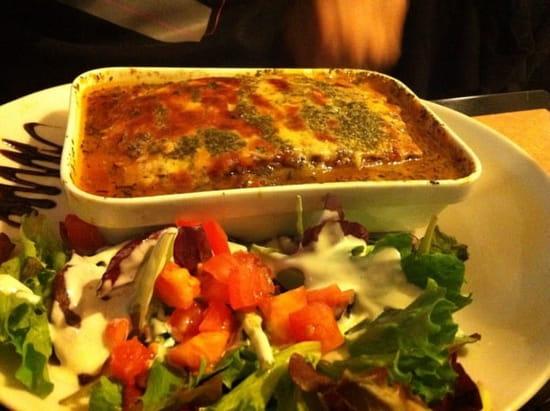 Restaurant : La Brasserie Dracénoise  - aubergines a la parmesanne -