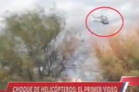Dropped: une vidéo montre la collision entre les deux hélicoptères